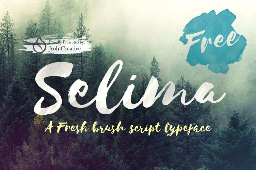 Selima- Free Font Handwritten
