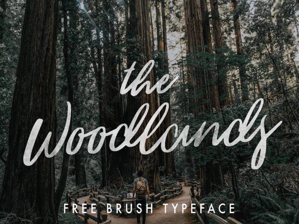 The Woodlands- Free Font