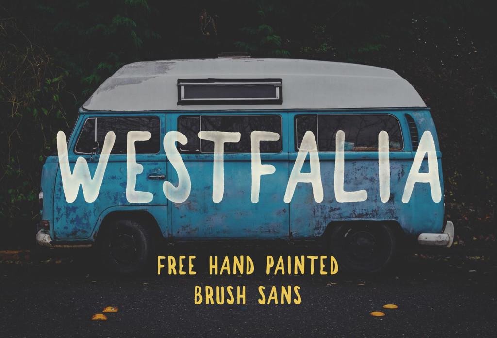 Westfalia- Free Font Handwritten