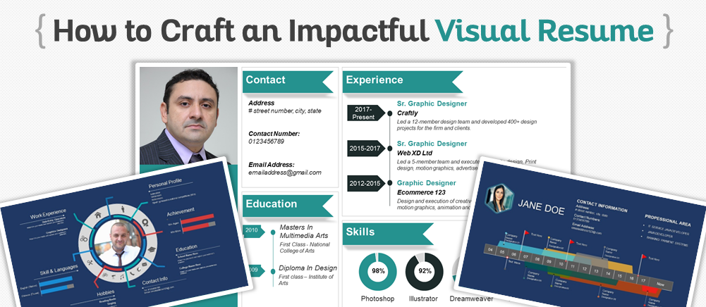 Rock That Resume! 11 Visual Resume PPT Templates to Give You ...
