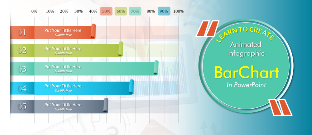 Learn To Create Animated Info Graphic Bar Chart In Powerpoint The