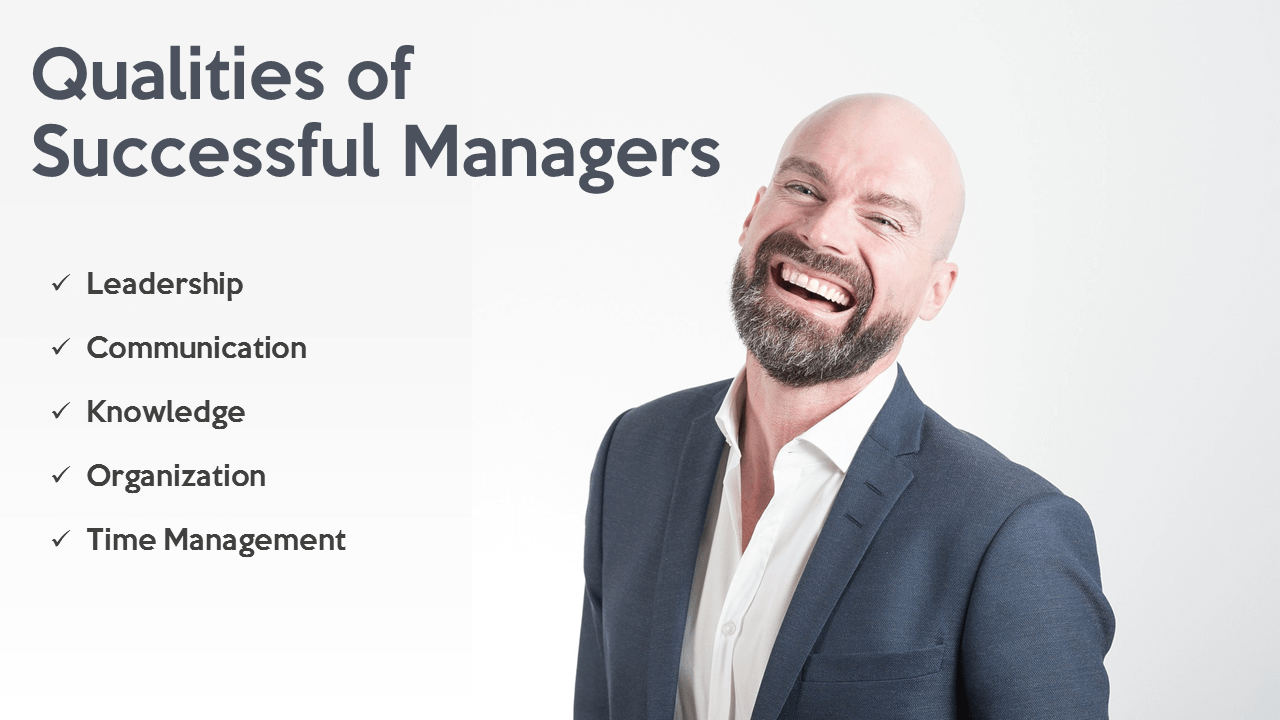 Qualities of Effective Managers PPT Slide
