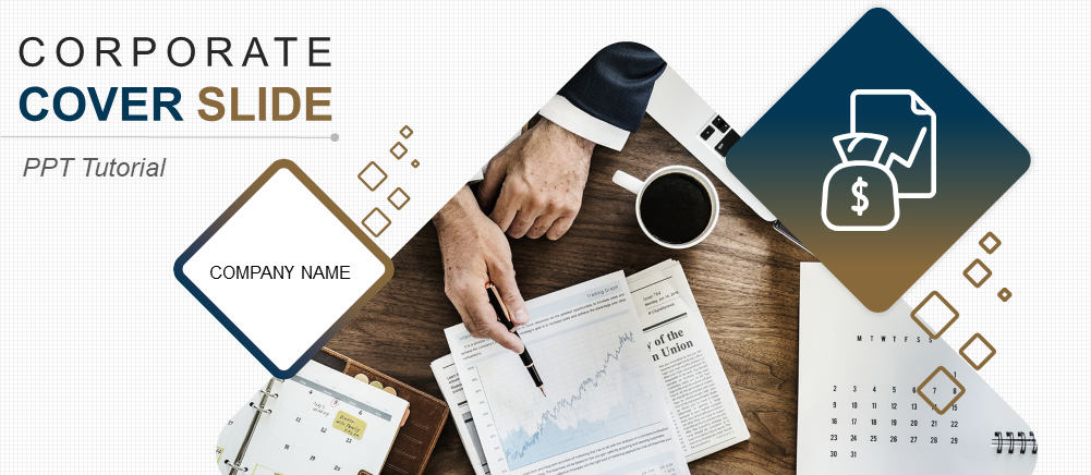 How To Create A Stunning Corporate Cover Slide Template