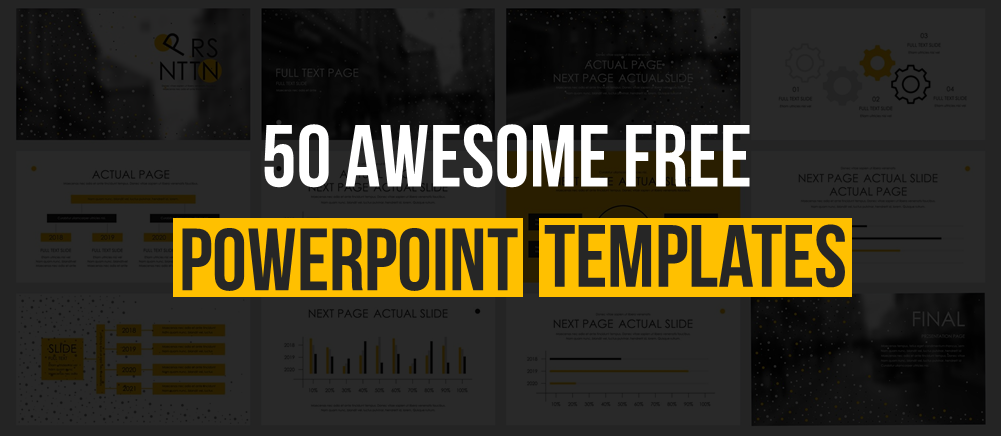 50 Free Powerpoint Templates For Powerpoint Presentations The