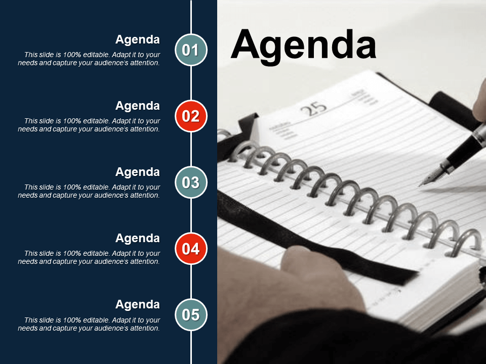 Agenda Free PowerPoint Template