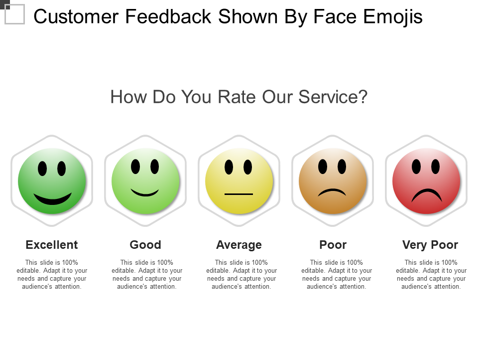 Customer Feedback Free PPT Template