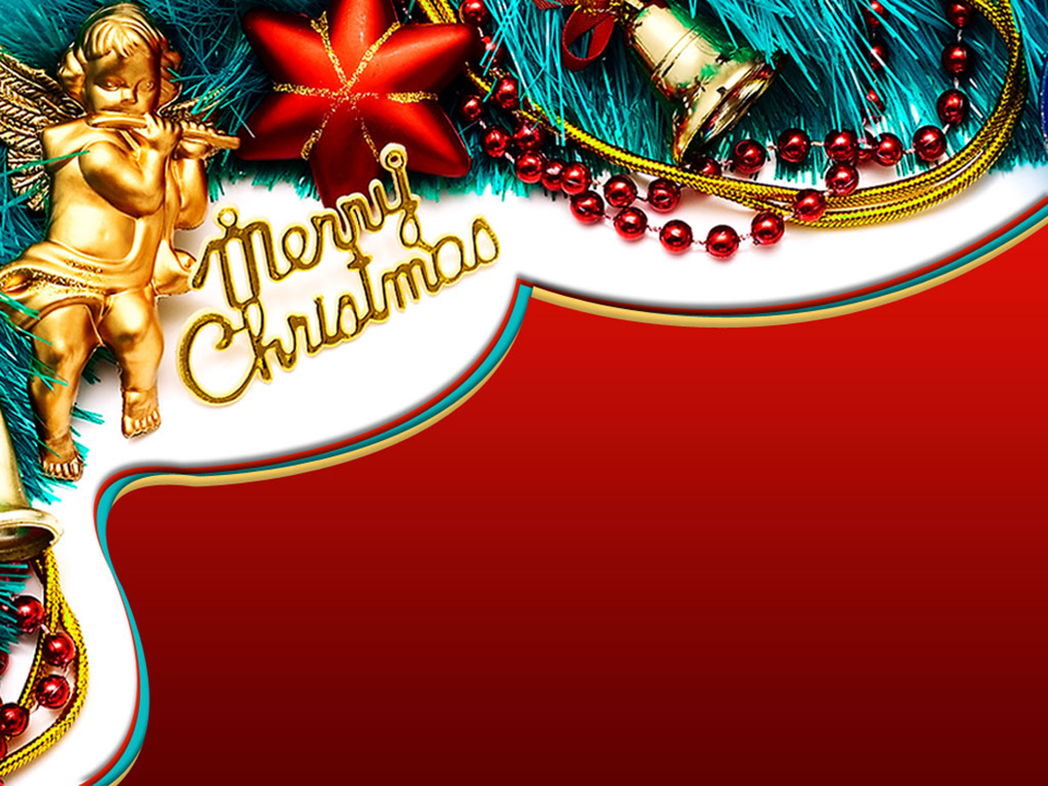 Merry Christmas Background PowerPoint Template