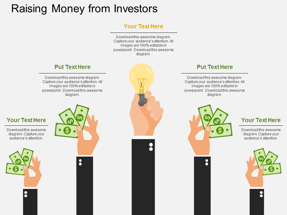 Money Finance Free PowerPoint Template