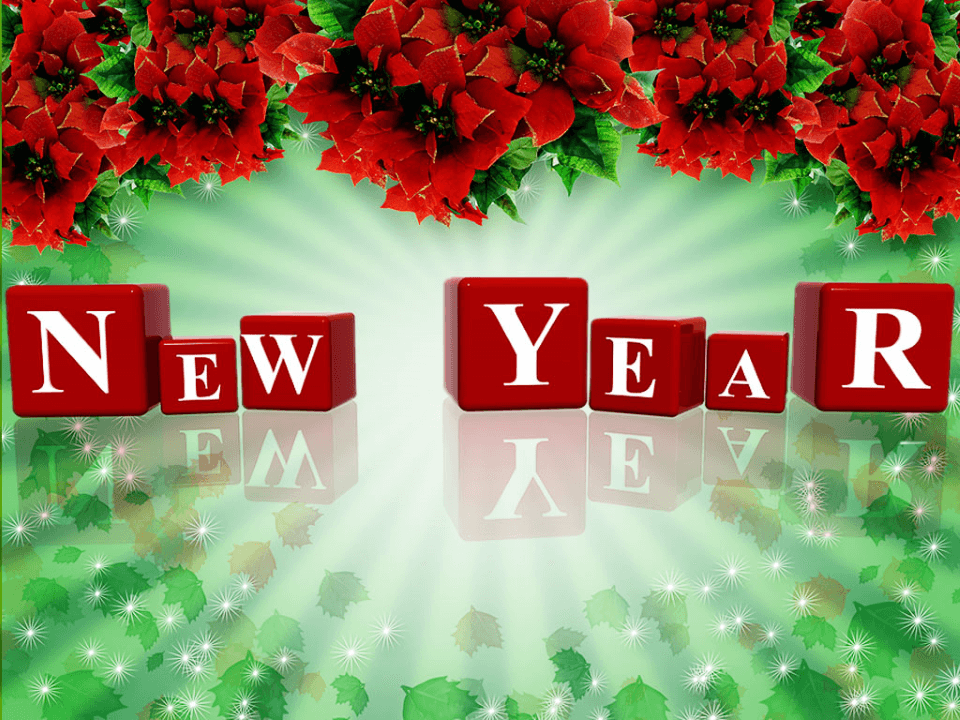 New Year Free PowerPoint Theme