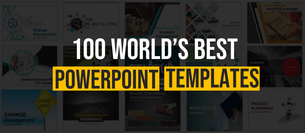 100 of the world s best powerpoint templates complete ppts slide