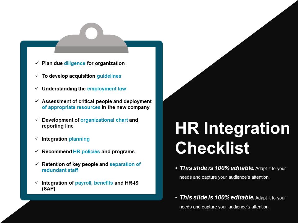 Checklist PowerPoint Templates