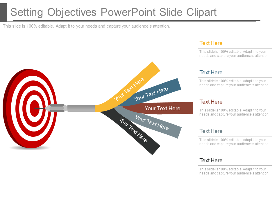 Goals Objectives PowerPoint Templates