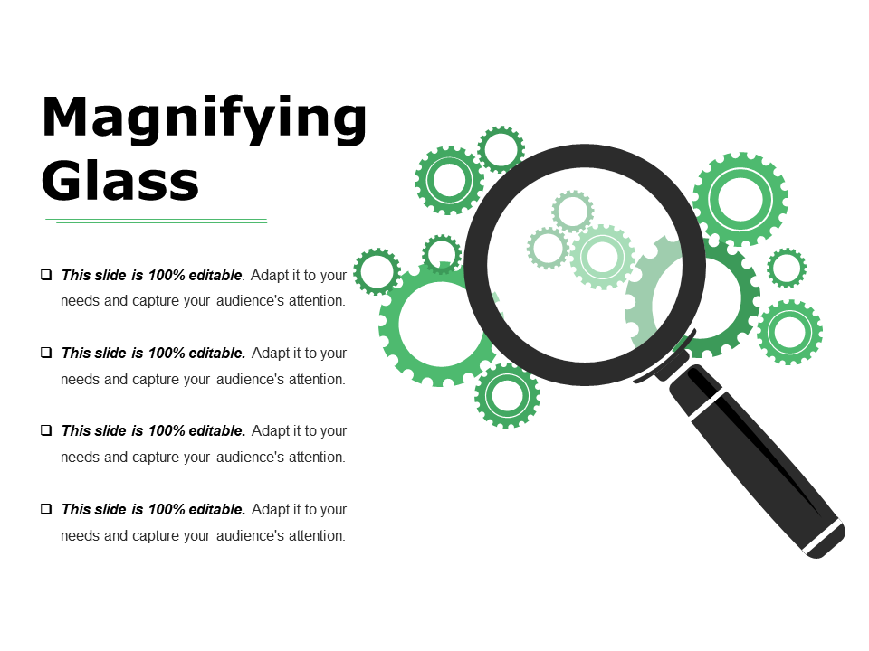 Magnifying Glass PowerPoint Templates