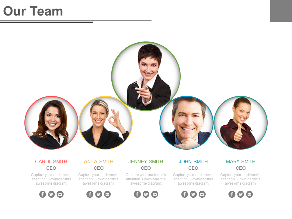 Our Team PowerPoint Templates