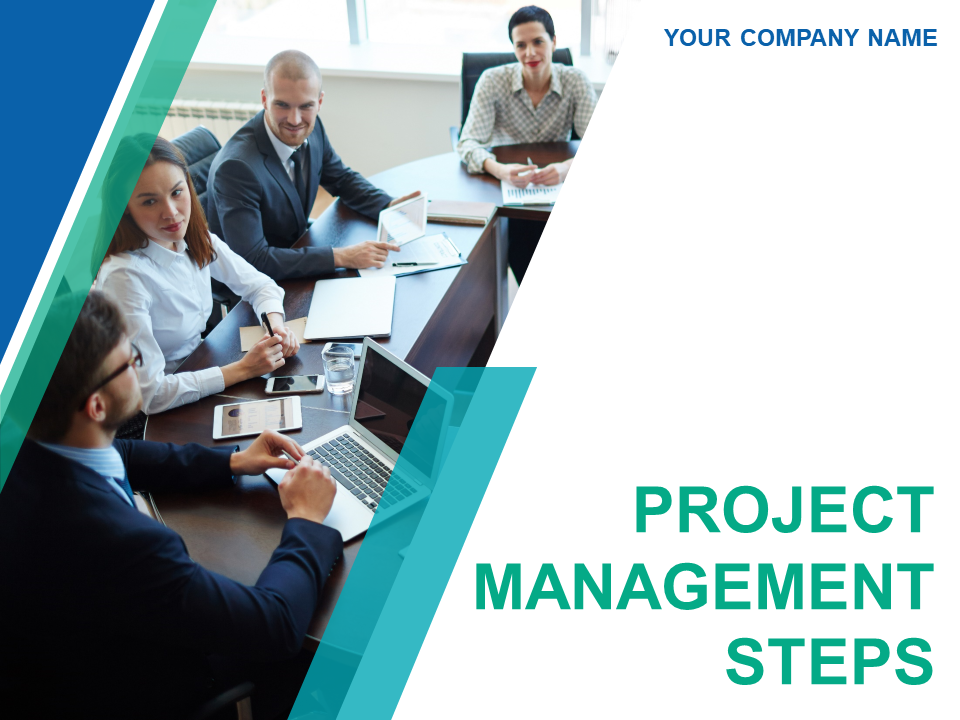 Project Management Report PowerPoint Templates