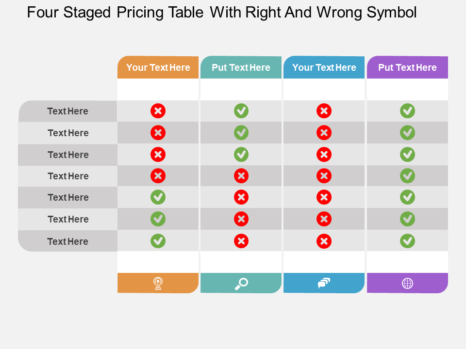 Tables PowerPoint Templates