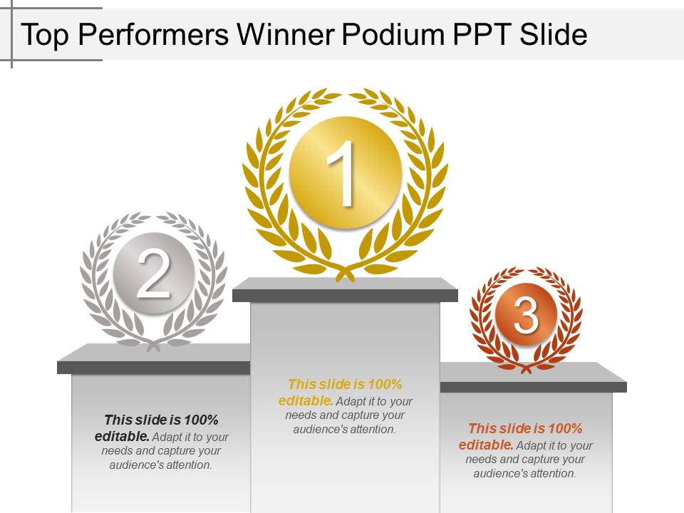 Winners PowerPoint Templates