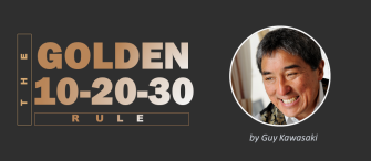Master the Golden 10-20-30 Rule of Guy Kawasaki to Create Engaging PowerPoint Slides