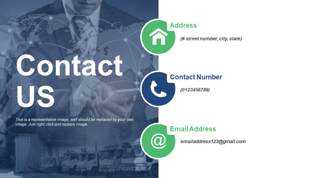 Contact Details PowerPoint Template
