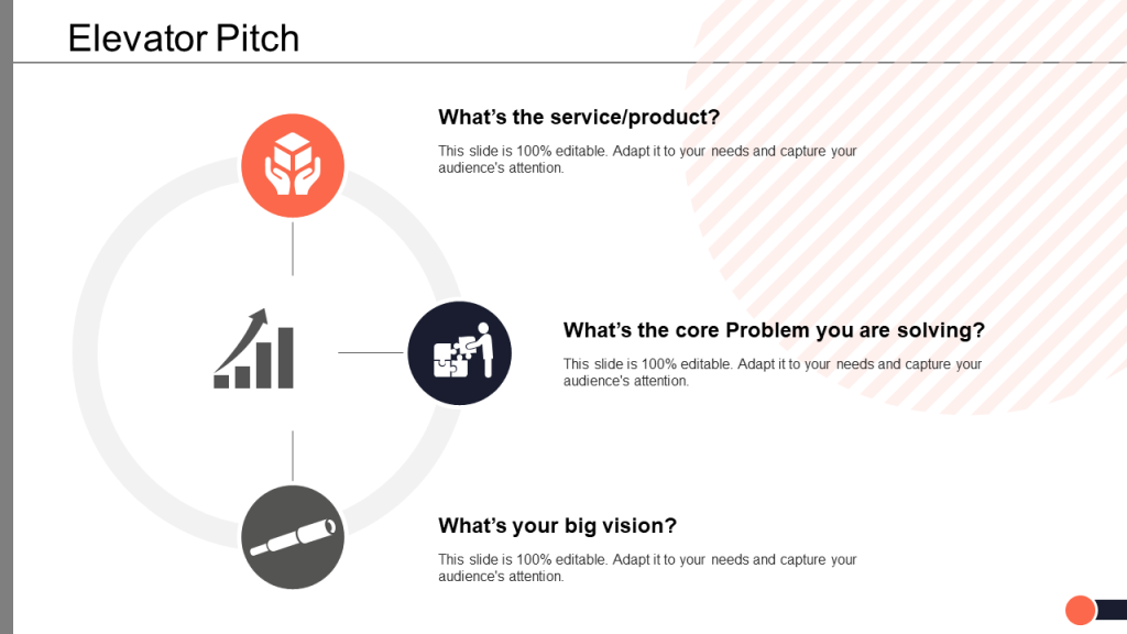 Elevator Pitch PowerPoint Template 10