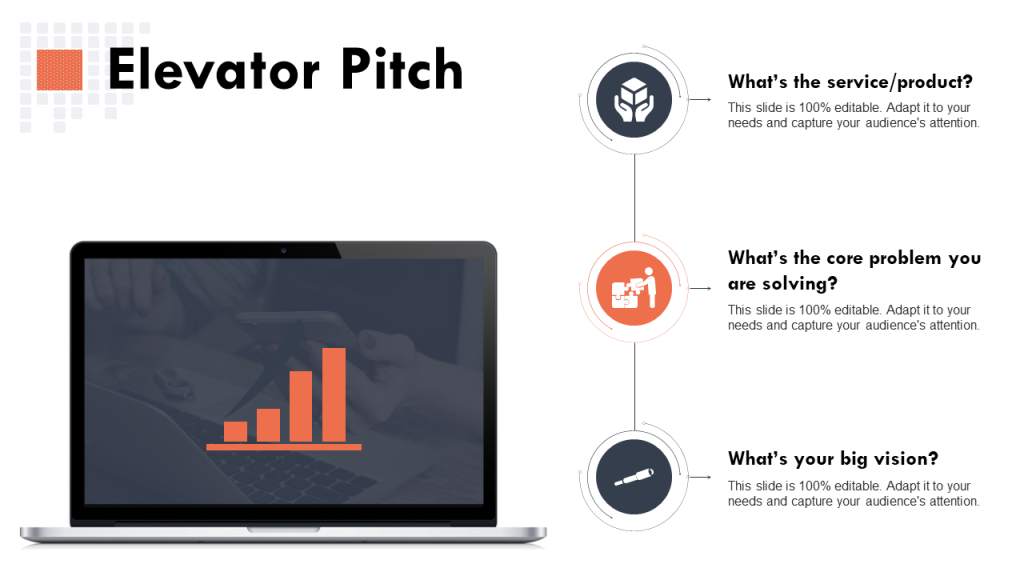 Elevator Pitch PowerPoint Template 6