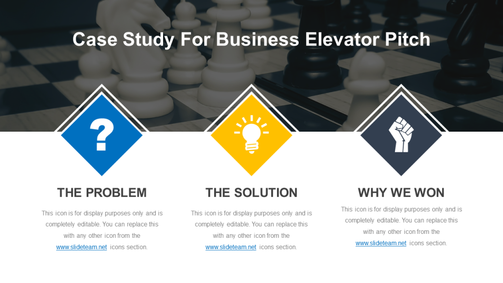 Elevator Pitch PowerPoint Template 7