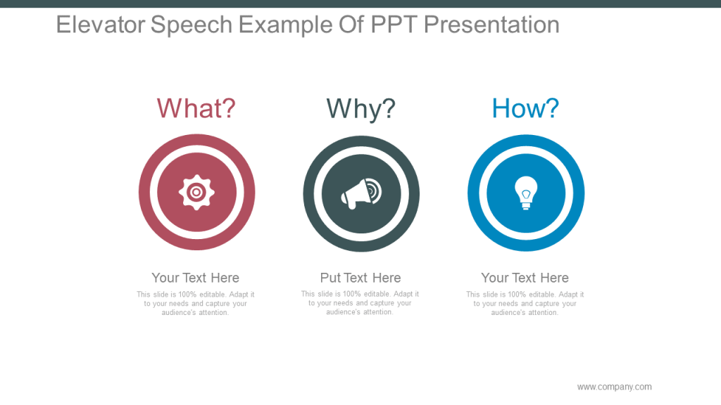 Elevator Pitch PowerPoint Template 8