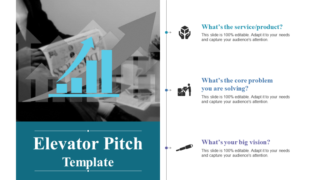 Elevator Pitch PowerPoint Template 9