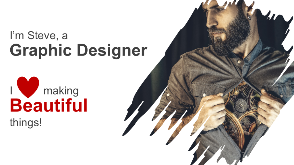 Graphic designer elevator pitch example