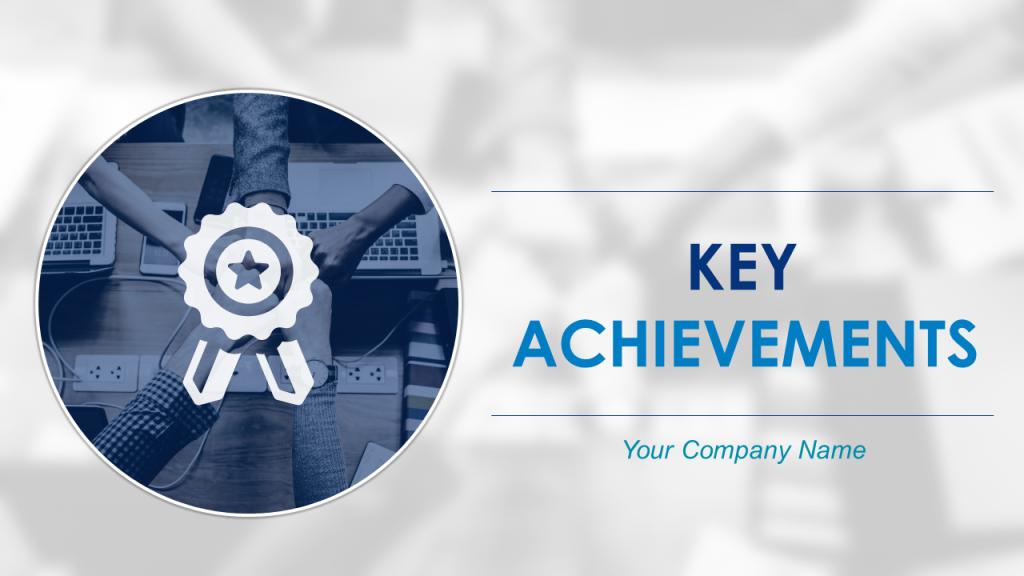 Key Achievements PowerPoint Templates