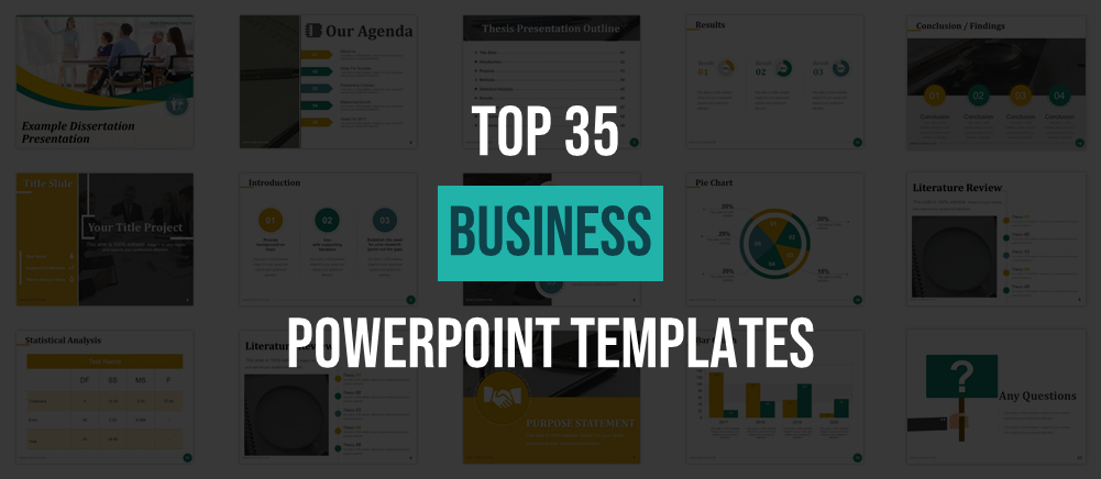 35 Best Business Powerpoint Templates Used By Successful