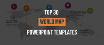 Top 30 Customizable World Map PowerPoint Templates for Every Industry
