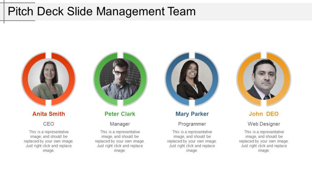 Management Team PowerPoint Template