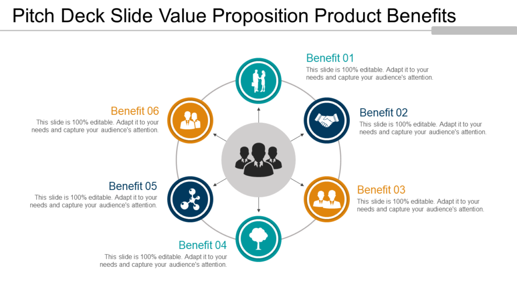 Pitch Deck Value Proposition PowerPoint Template