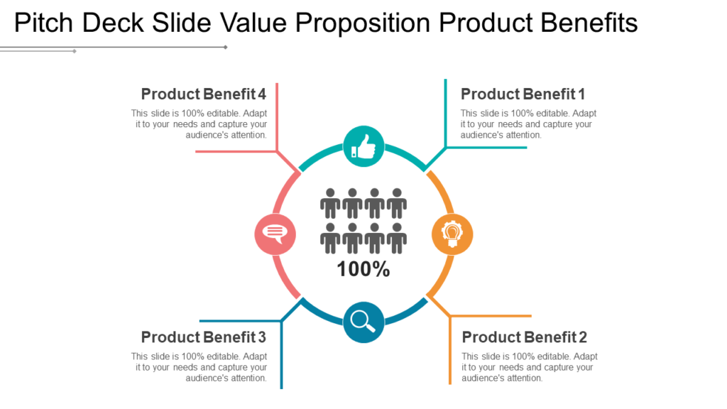 Product Benefits Pitch Deck PowerPoint Template