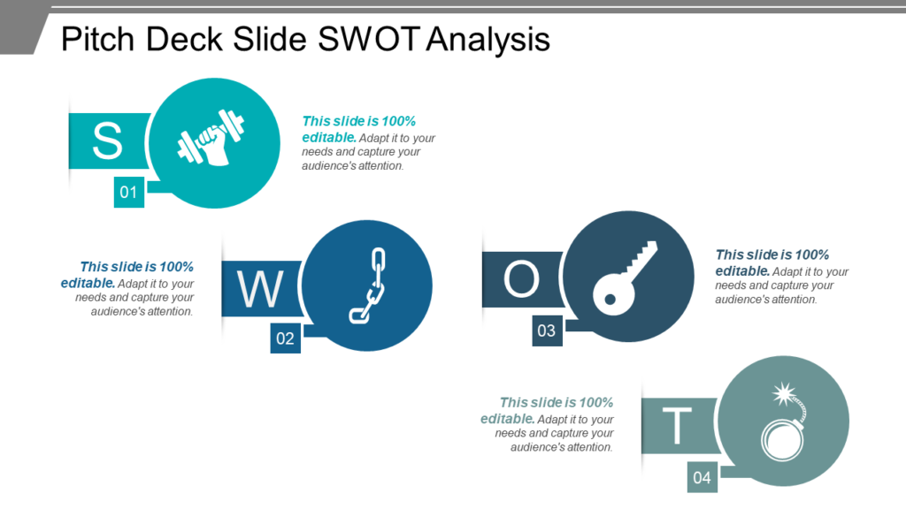 SWOT Analysis for Pitch Deck