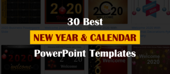 30 Best New Year and Calendar Templates To Kick-Off 2020 with a Bang!