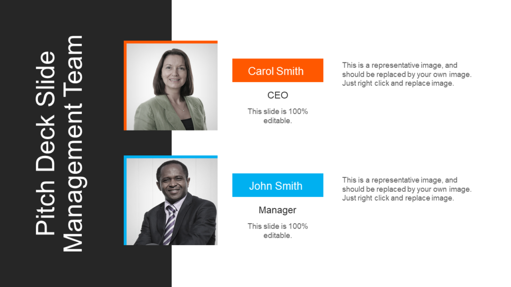 Team Members Introduction PowerPoint Template