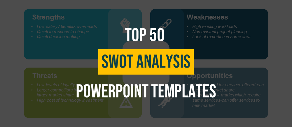 Top 50 Swot Analysis Powerpoint Templates Used By Professionals