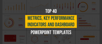 Top 40 Metrics, Key Performance Indicators and Dashboard PPT Templates for Every Business