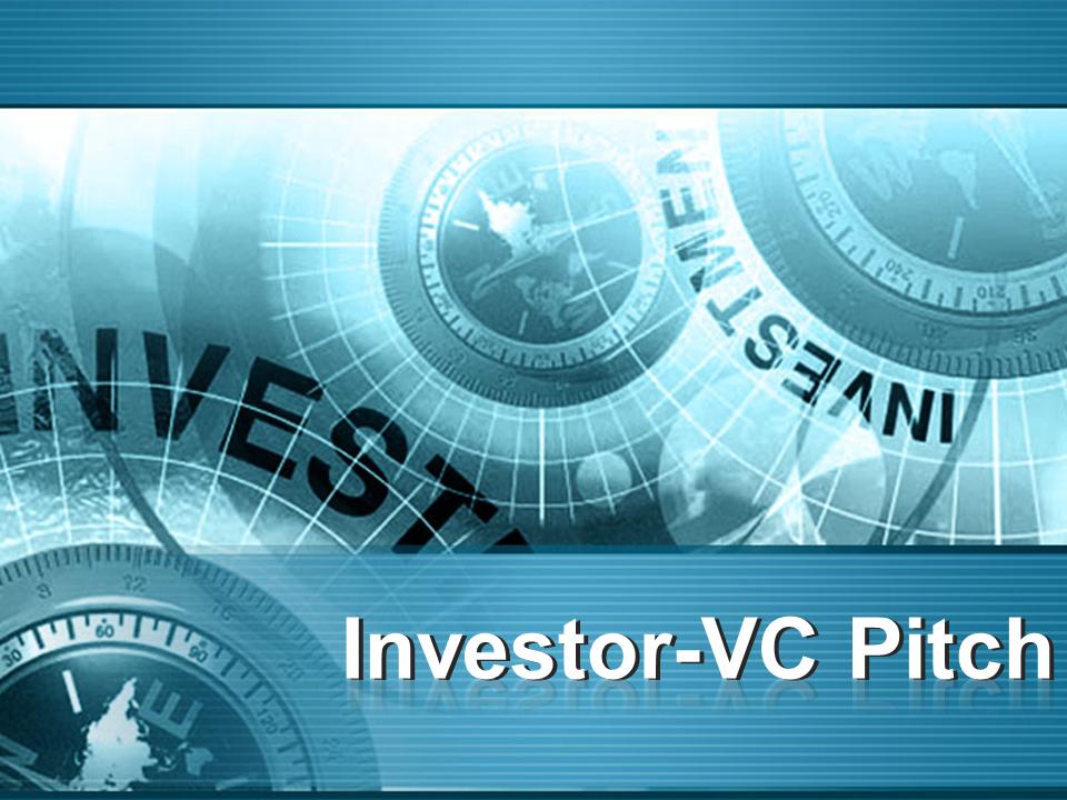 Investor VC Pitch