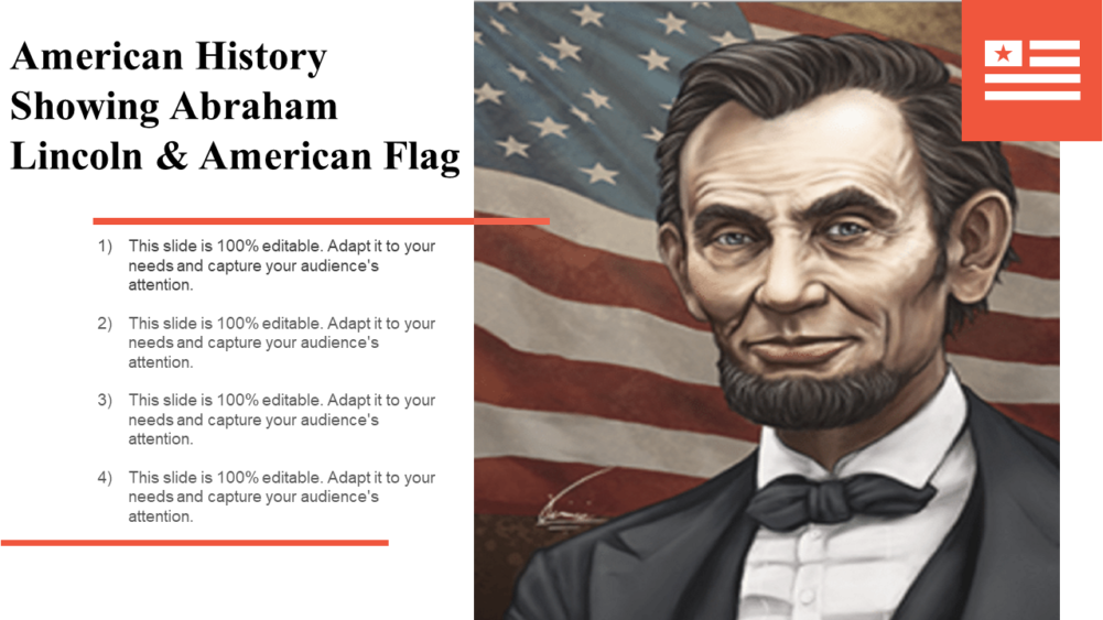 American History Showing Abraham Lincoln