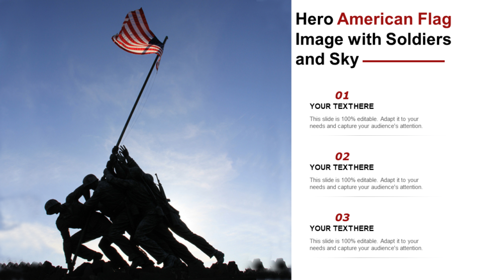 Hero American Flag Image