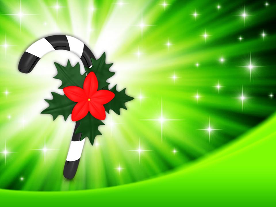 Christmas Carol Candy Stick