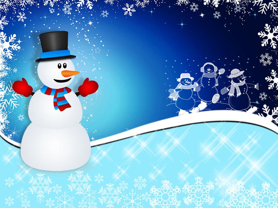 Christmas Stocking Winter Snowman