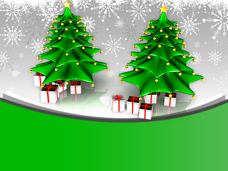 Attractive Christmas Trees With Gifts