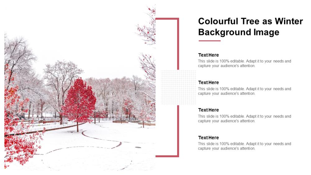 Colourful Tree