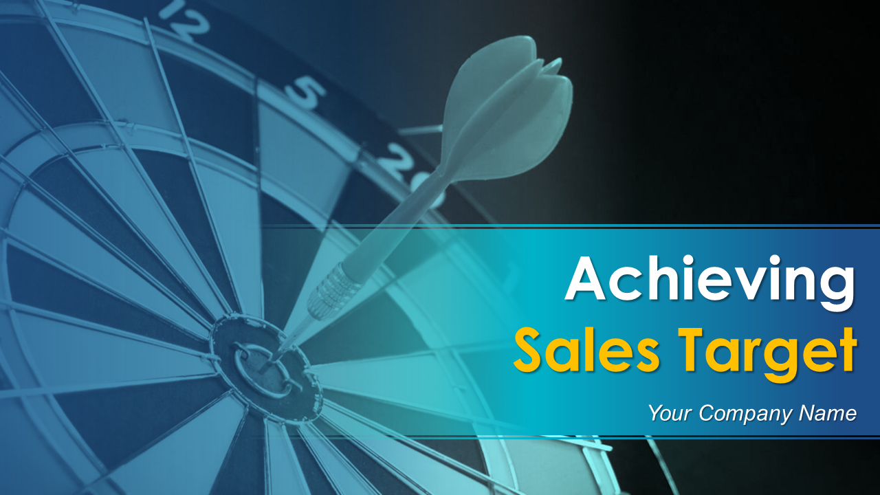 Achieving Sales Target