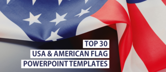 Top 30 USA and American Flag PowerPoint Templates Used by the Entire World!