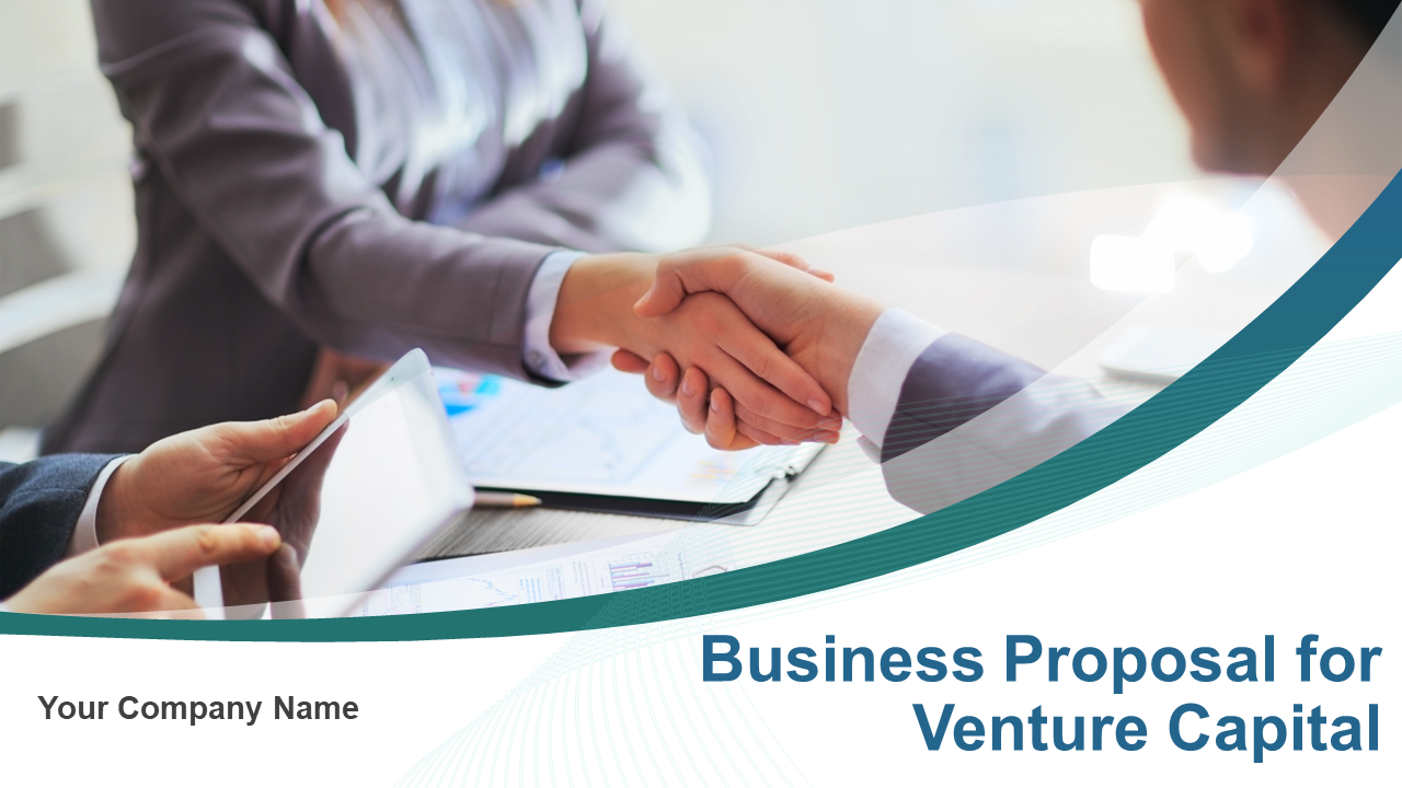 Business Proposal For Venture Capital